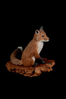 Possible Red Fox carving